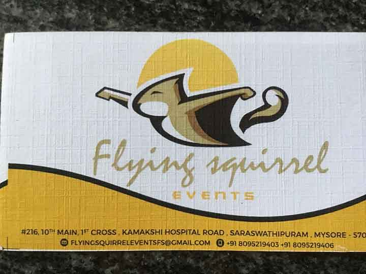 Flying squirrel Events
